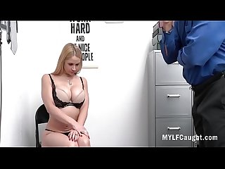 Busty MILF Caught By Cop And f. Into Fucking Her- Sarah Vandella