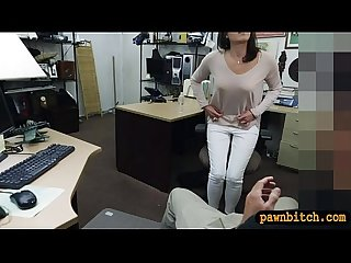 Customers wife screwed by pawn keeper