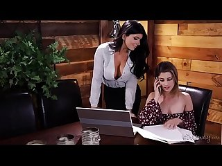 Calm down Honey, I don't want to be your girlfriend! - Romi Rain & Kristen Scott