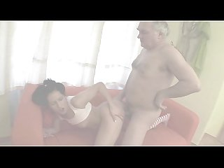 Lewd Stepdad Fucks Prettey Brunette Stepdaughter