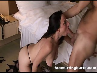 Karen kougar doesn t care which hole gets fucked