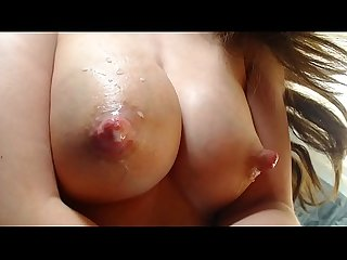 Teen milking big tits for sweet milk