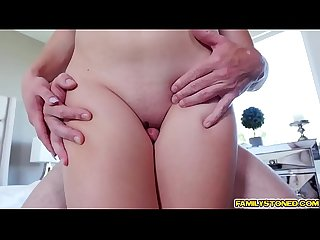 Kasey Miller getting her pussy doggystyle fuck by step dad!