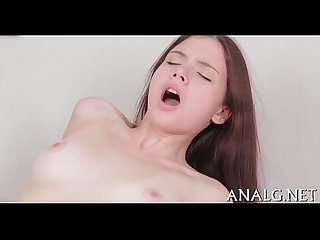 Dangerously sexy anal riding