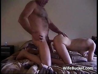 Mature couple homemade sex tape