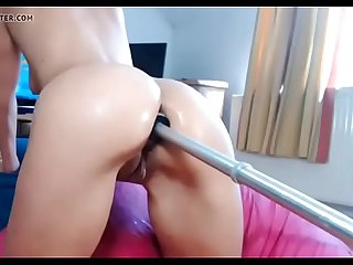 Anal fucking machine in very lubrificate ass shakexmx com