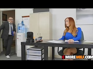 Big titty boss dani jensen fucked and facialized by employee