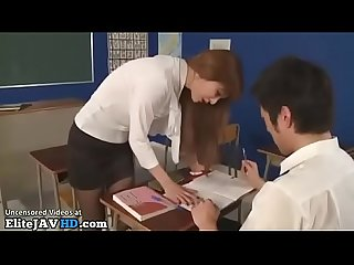Japanese teacher hot pantyhose sex more at elitejavhd com