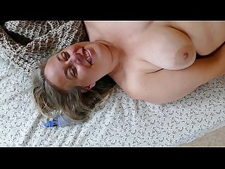 Hot Mom caught masturbating Sexy Stepmom BBW MILF orgasm POV