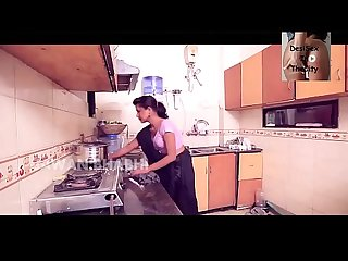 Fuck young hot girl in kitchen