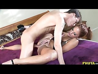 FHUTA - Gabriella Banks Screams From Her Ass Getting Fucked