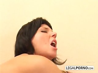 Two hot girls get fucked by a big dick GB-13-03