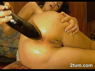 Hugh egg plant ass fuck and orgasm must see