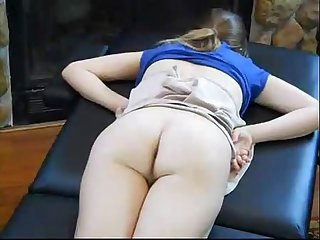 Dad massage daughter and fucked her