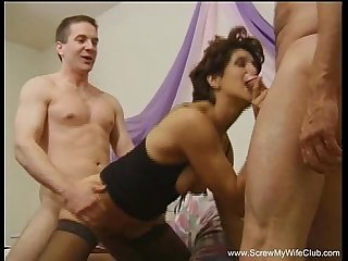 granny swinger dp anal threesome