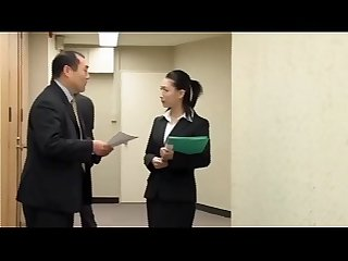 Pornxhard.com - Japanese businesswoman forced to take it from behind