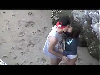 Hot beach fuck