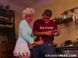 Granny only wants anal