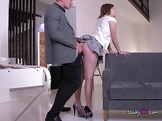 College babe sofy torn does bj and doggystyle