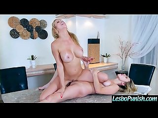 Sex Toys Punish Action Between Horny Lesbian Girls (Alexis Fawx & Molly Mae) vid-04