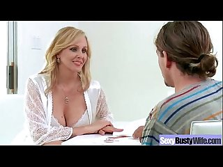 Hot action sex tape with busty nasty wild mature lady Julia ann Vid 12