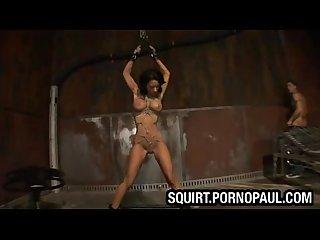 Hardcore bondage squirt