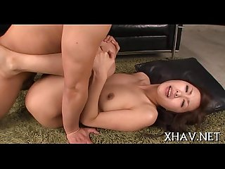 Asian playgirl pussy gets stretched