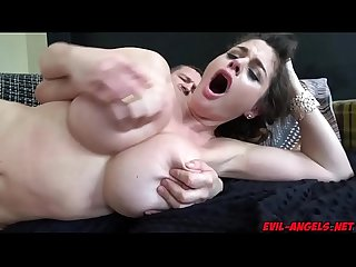 Yanick Shaft anal fucking Cathy Heavens on top of his large rod bouncing off her ass!