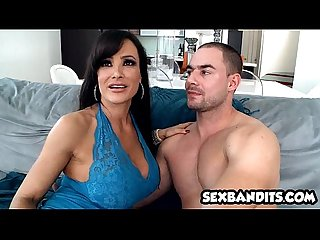 Goddess Lisa Ann graces us with amazing bj and anal 09