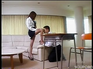 Www dearsx com asian teacher has her student