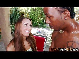 Interracial hoe sucks rod