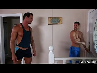 Alex cox trstan jaxx get hot after a nice jog
