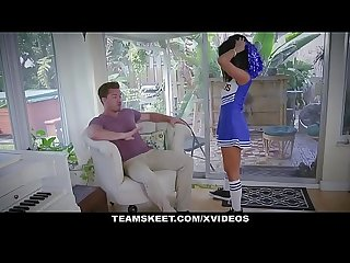 ExxxtraSmall - Sexy Cheerleader Teen Fucks Huge Cock