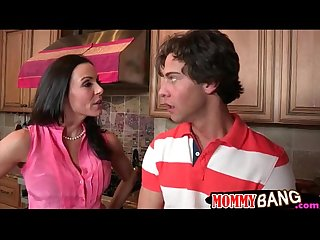 Busty milf kendra lust busted couple boning in the kitchen