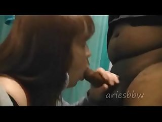 Bathroom Bj with ariesbbw