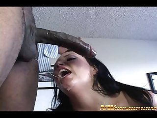 anal interracial sex for big tits girl and big black cock
