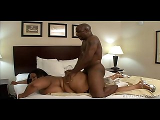 Fat woman with enormous tits has sex with a bald dude hi