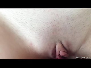 Amateur wife getting fucked on this homemade closeup video