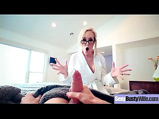 Busty Horny Housewife (Brandi Love) Enjoy Hard Style Sex Action movie-11