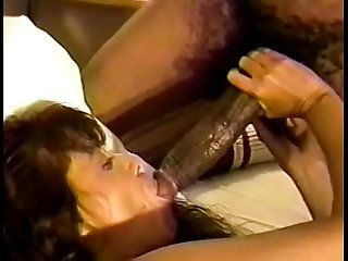 Nasty brunette bitch warms up her prurient ass with dildo waiting for humongous schloeng of..