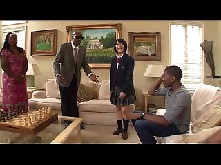 Miku Abeno pays Wesley Pipes a visit