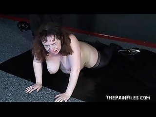 Burned excercising slavegirl bbw bdsm and extreme fetish