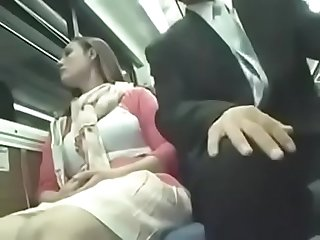 Nice women are molested on the Bus pt2 on hdmilfcam com