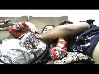 Indian lovers fucking at home