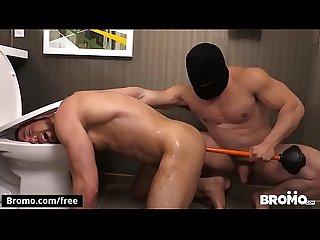 Bromo brendan phillips with jaxton wheeler at he likes it rough raw part 1 scene 1