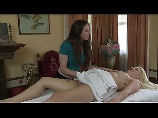 Is this part of the massage? - Casey Calvert and Giselle Palmer