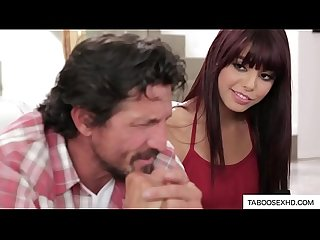 Daddy makes porn movie with stepdaughter