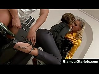 Euro glam fetish sluts get fucked