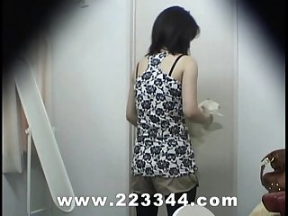 Peeping the locker room of japanese babes by hidden cam