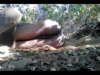 Desi tarzan boy sex in jungle with big tree
